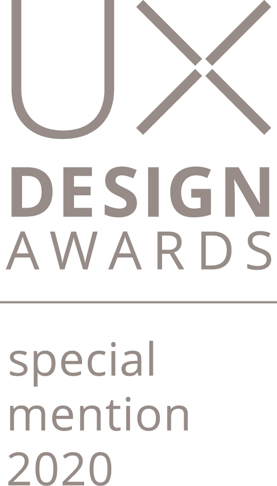 UX design awards 2020 special mention