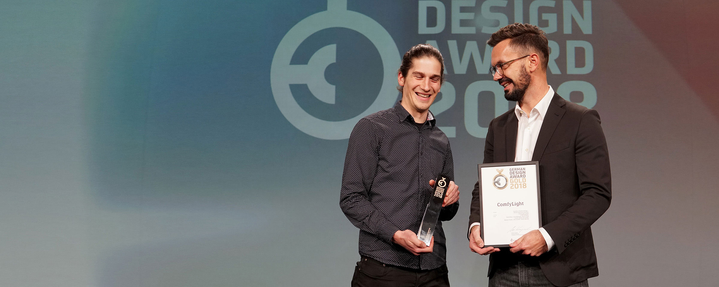 Intuity Media Lab wins the German Design Award 2018 Gold