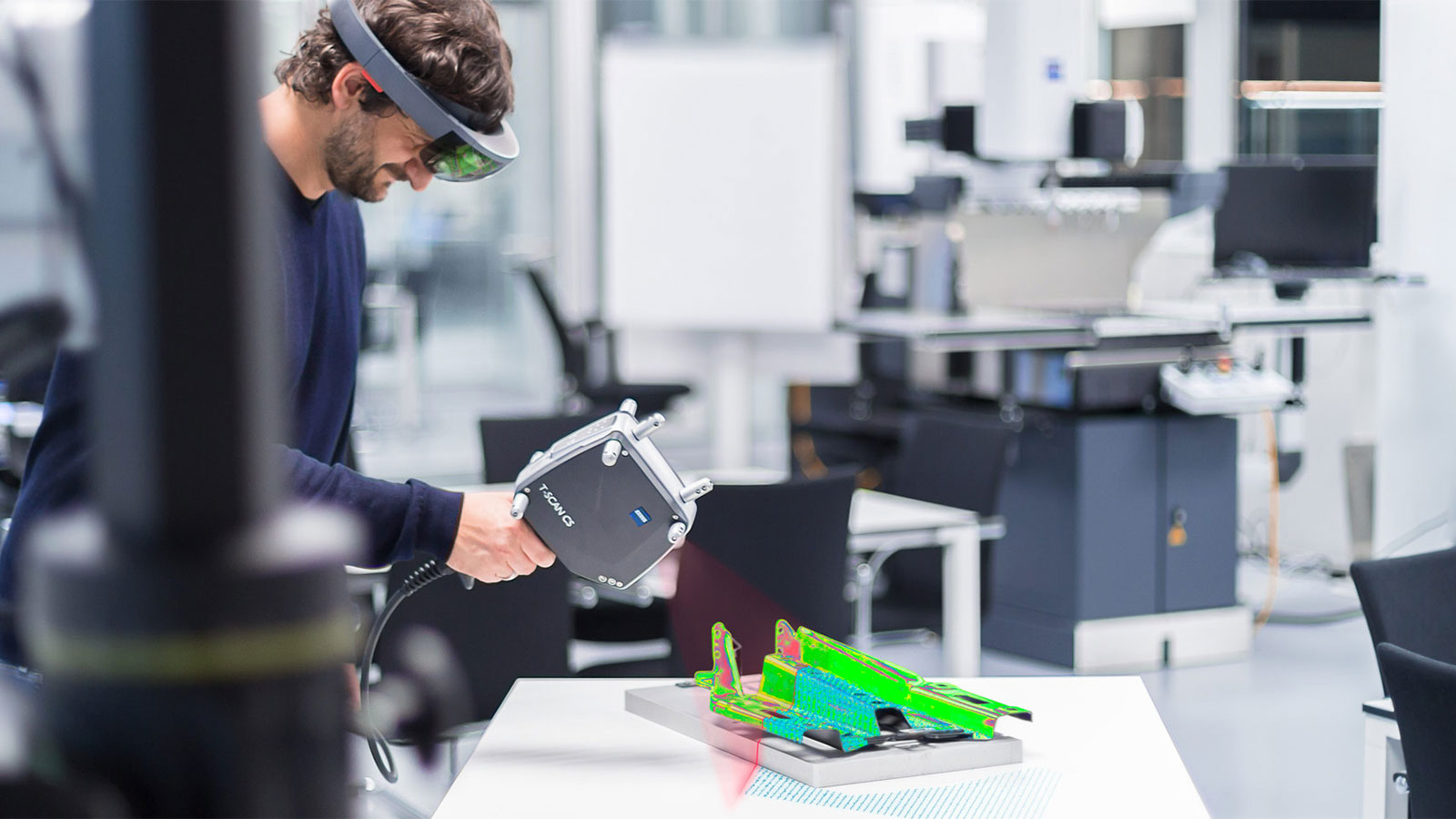 Immersive Metrology – Integrate mixed reality and evaluate potential